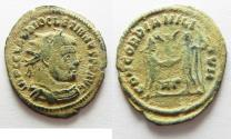 Ancient Coins - BEAUTIFUL AS FOUND DIOCLETIANUS AE ANTONINIANUS