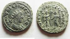 Ancient Coins - AS FOUND: GALLIENUS  Billon Antoninianus. Rome mint