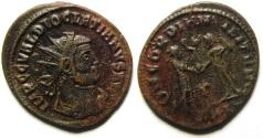 Ancient Coins - BEAUTIFULL DIOCLETIAN ANTONINIANUS