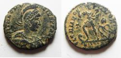 Ancient Coins - NICE THEODOSIUS I AE CENT.