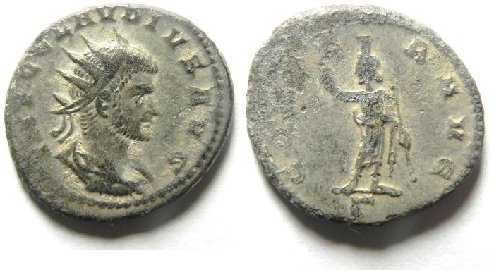 Ancient Coins - CLAUDIUS SILVERED ANTONINIANUS
