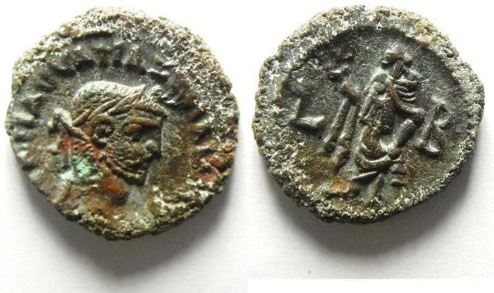 Ancient Coins - Maximianus, Egypt Alexandria, Potin Tetradrachm