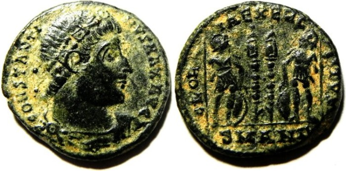 Ancient Coins - CONSTANTINE I AE 3 , NICE QUALITY
