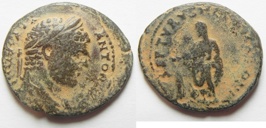 Ancient Coins - Phoenicia. Tyre. Caracalla. AE 28