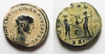Ancient Coins - AS FOUND NUMERIANUS AE ANTONINIANUS