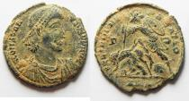 Ancient Coins - CHOICE AS FOUND CONSTANTIUS II AE CENT. ALEXANDRIA MINT