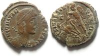 Ancient Coins - CONSTANTIUS II AE 2 , NICE