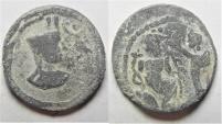 Ancient Coins - Egypt. Alexandria. Second-third centuries AD. Lead tessera (19mm, 3.61g).
