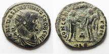 Ancient Coins - MAXIMIANUS FOLLIS OF ALEXANDRIA