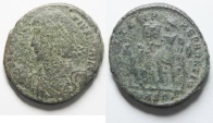 CONSTANTIUS II AE CENT. AS FOUND