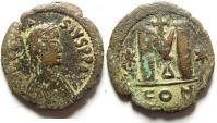 Ancient Coins - ANASTASIUS AE FOLLIS , VERY ATTRACTIVE