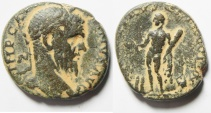 Ancient Coins - Phoenicia. Tyre under Macrinus (AD 217-218). AE 24mm, 10.52gm.