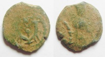 Ancient Coins - Judaea, Herod I 40 - 4 BC. AE prutah.