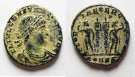Ancient Coins - CONSTANTINE I AE 3 . DESERT PATINA