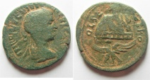 Ancient Coins - Samaria. Neapolis under Philip I (AD 244-249). AE 29mm, 11.53g