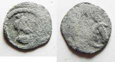 Ancient Coins - EGYPT. ALEXANDRIA. ROMAN LEAD TOKEN. AS FOUND