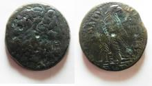 Ancient Coins - EGYPT. PTOLEMAIC KINGDOM PTOLEMY IV AE 38