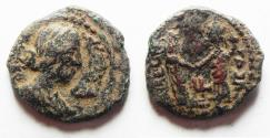 Ancient Coins - JUDAEA, Gaza. Julia Domna. Augusta, 193-217 CE. Æ 21