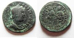 Ancient Coins - CILICIA, Anazarbus. Valerian I. AD 253-260. Æ 6 Assaria