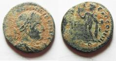 Ancient Coins - AS FOUND. CONSTANTINE I AE FOLLIS