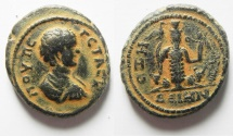 Ancient Coins - WHAT A BEAUTY!! :  DECAPOLIS. DEION (DIUM) UNDER GETA, AD 209-211