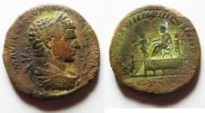 Ancient Coins - Caracalla. AD 198-217. Æ Sestertius . Rome mint. Struck AD 214.