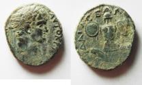 Ancient Coins - NICE AS FOUND: JUDAEA CAPTA UNDER TITUS AE 24