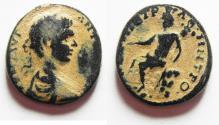 Ancient Coins - BEAUTIFUL ORIGINAL PATINA. ARABIA. PETRA  GETA AE 23