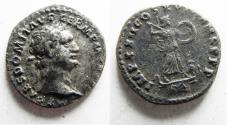 Ancient Coins - BEAUTIFUL AS FOUND. DOMITIAN SILVER DENARIUS