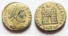 Ancient Coins - ORIGINAL DESERT PATINA. CONSTANTINE I AE 3, NICE QUALITY