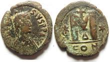 Ancient Coins - ANASTASIUS AE FOLLIS , VERY ATTRACTIVE