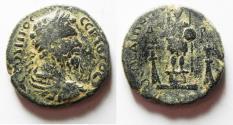 Ancient Coins - ARABIA, Rabbathmoba. Septimius Severus. AD 193-211. Æ 28