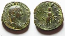 Ancient Coins - Philip II, Sestertius, Roma