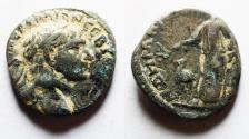 Ancient Coins - ARABIA, Bostra. Trajan. AD 98-117. AR Drachm