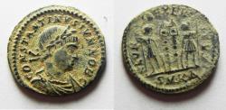 Ancient Coins - ORIGINAL DESERT PATINA. CONSTANTINE II AE 3