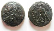Ancient Coins - EGYPT. PTOLEMAIC KINGDOM PTOLEMY IV AE 33