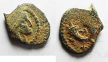 Ancient Coins - NABATAEA. Aretas IV. 9 BC- AD 40. AE 15