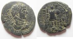 Ancient Coins - Arabia. Rabbathmoba under Geta (AD 209-211). AE 30mm , 13.49gm.