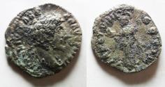 Ancient Coins - AS FOUND: MARCUS AURELIUS SILVER DENARIUS