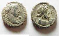 Ancient Coins - EGYPT, Alexandria. Trajan. AD 98-117. BI Tetradrachm