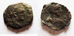 Ancient Coins - EGYPT. ALEXANDRIA. VESPASIAN AE DIOBOL