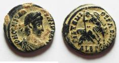 Ancient Coins - ORIGINAL DESERT PATINA: CONSTANTIUS II AE 3 , ALEXANDRIA MINT