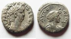 Ancient Coins - EGYPT, Alexandria. Nero. 54-68 AD. AR Tetradrachm