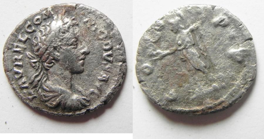 Ancient Coins - COMMODUS . SILVER DENARIUS