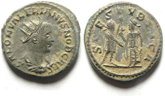 Ancient Coins - VALERIAN II. (AD 256-58) Antoninianus