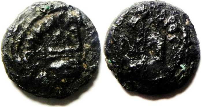Ancient Coins - JUDAEAN , PONTIUS PILATE AE PRUTAH