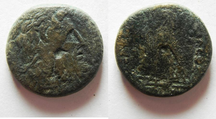 Ancient Coins - PTOLEMAIC KINGDOM . PTOLEMY III AE 22