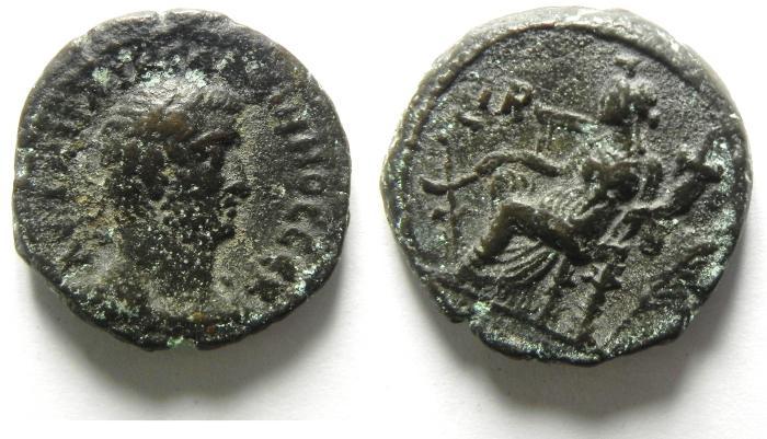 Ancient Coins - EGYPT , ALEXANDRIA , GALLIENUS POTIN TETRADRACHM