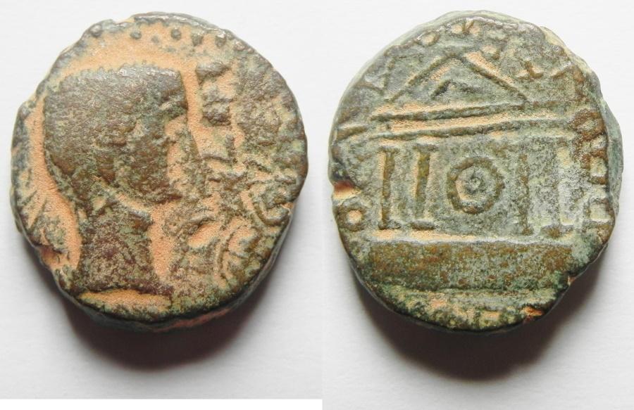 Ancient Coins - Judaea. Herodian dynasty. Herod Philip (4 BCE-34 CE). AE 21mm, 10.76g