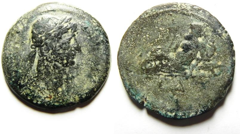 Ancient Coins - EGYPT, Alexandria. TRAJAN , Æ Drachm